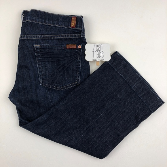 7 for all Mankind Denim - 7 for all mankind crop dojo jeans